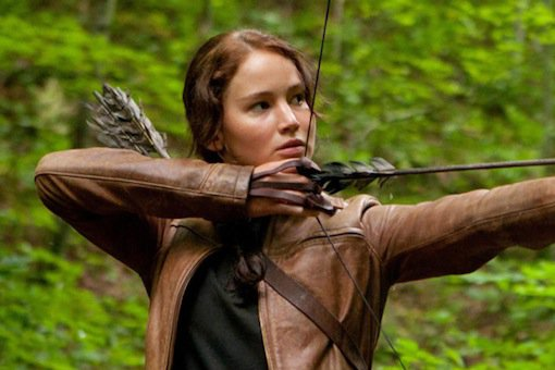 Katniss in Hunger Games