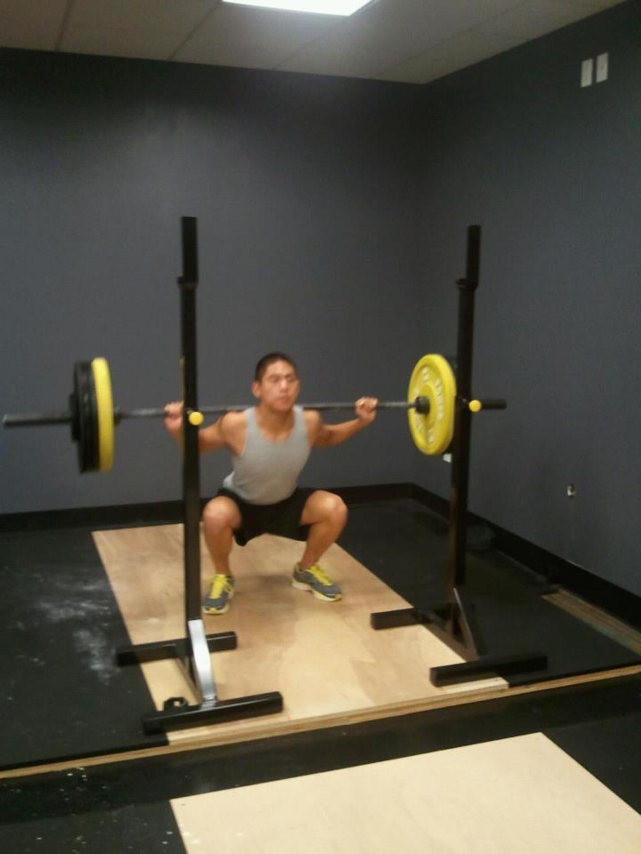 Eric squat
