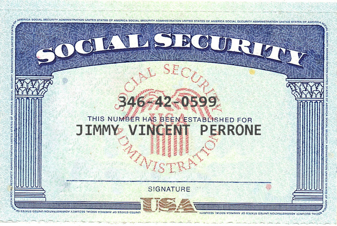 Common Types » Social Security Card Font - Free Font Samples from ...