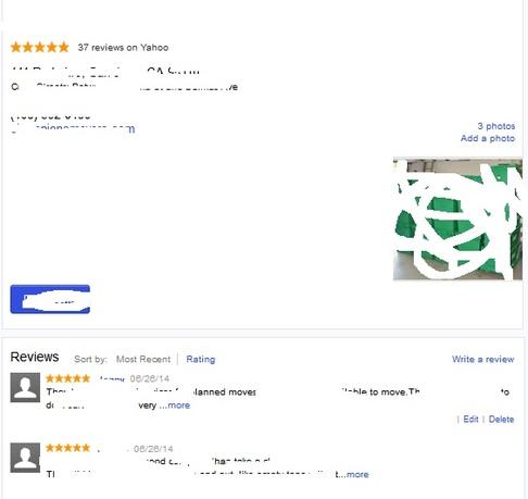 Bewertungen für Yahoo