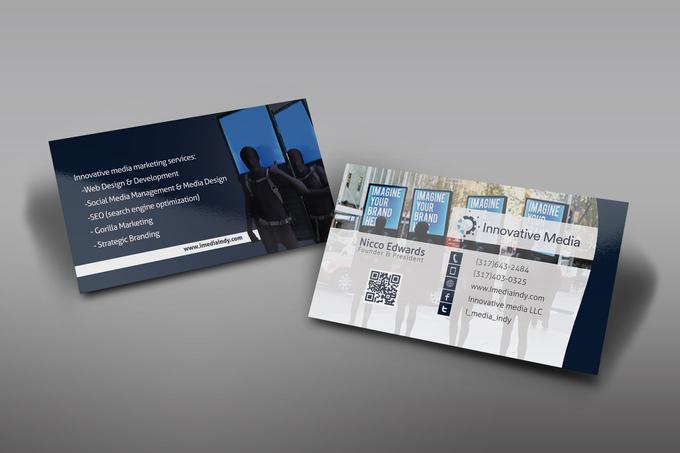 Sample business cards design ws 1404200546 for Fiverr business cards