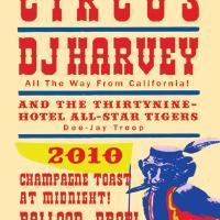 thirtyninehotel NYE circus: Main Image