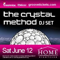 The Crystal Method ( dj set): Main Image