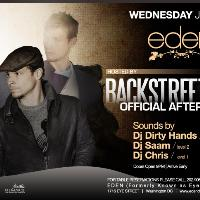 Backstreet Boys Host Eden Wed: Main Image