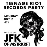Teenage Riot Records Party: Main Image