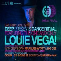 DEEP presents LOUIE VEGA: Main Image