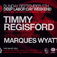 Deep presents Timmy Regisford: Main Image