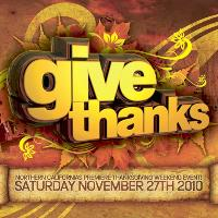 GIVE THANKS 2010: Main Image