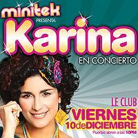 Karina en Concierto: Main Image