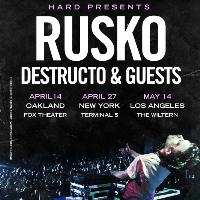 HARD presents RUSKO: Main Image