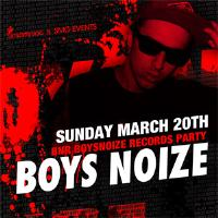 Boys Noize Records Night: Main Image