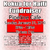 Kokua for Haiti Fundraiser: Main Image
