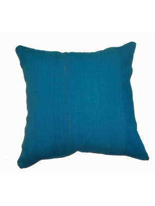Teal Aya Pillow