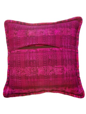 Red Mayan Pillow