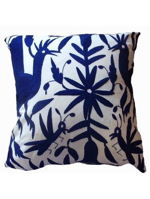 Navy Otomi Pillow