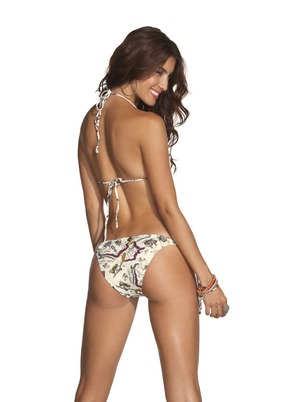 Costa Azul Two Piece Map Bikini