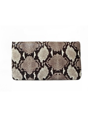 Luba Clutch Brown