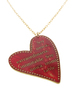 Big Red Heart Necklac