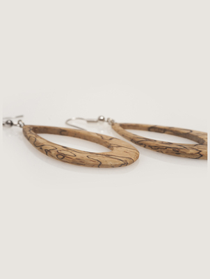Spalted Tear Earrings