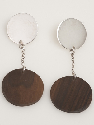 Dangle Wood Earrings