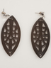 Carved Lance Earrings