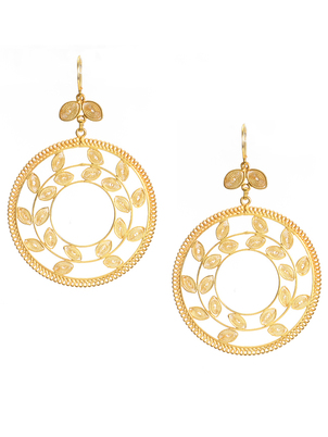 Gold Olympia Earrings