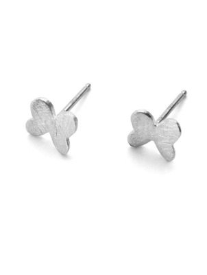 Silver Petit Butterfly Earrings