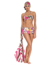 Floral Garden Two-Piece Skirted Bikini