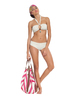 Cream Two-Piece Bandeau Bikini