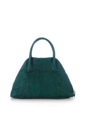 Green Bold Jackie Satchel 