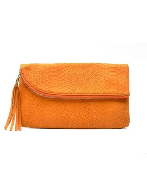 Jazz Clutch Orange