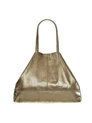 Leather Bag Gold