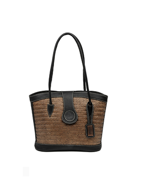 Handmade Ollin Black Handbag