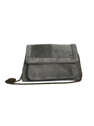 Gray Blue Clutch