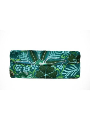 Green Velvet Clutch