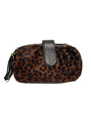 Leopard Matisse Clutch