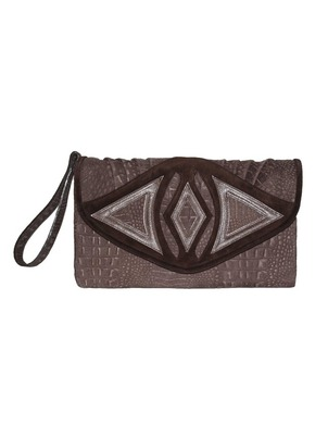 Mink Rose Clutch