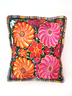 Rainbow Flower Pillow ( Filling not included)