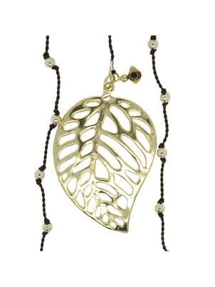 Leaf Brown Necklace