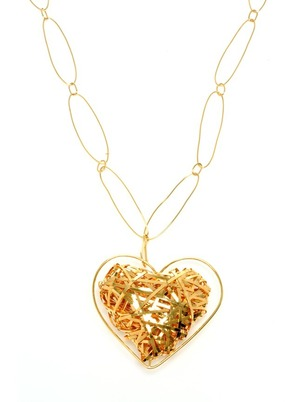 Collar de oro True Love