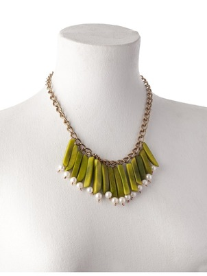 Green India Necklace