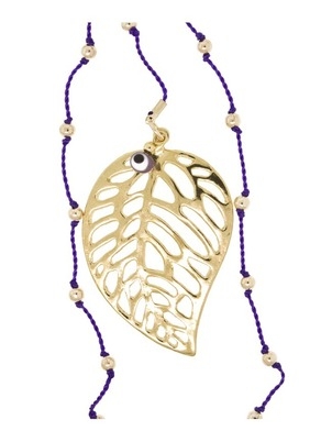 Leaf Purple Necklace