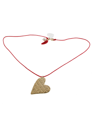 Heart Red Necklace