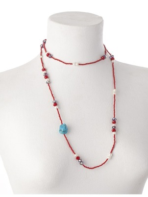 Red Zaira Necklace