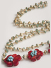 Beaded Flower Necklac