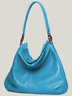 Turquoise Leather Bag