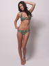 Jungle Print Halter Bikini