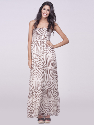 Native Skin Maxi Dress Cover Up