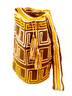 Golden Brown Wayuu Mochila 