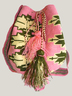 Pink and Green Mochila